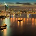 Rama 9 bridge in Bangkok