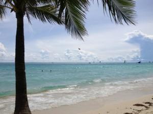 Boracay beach where Fisto and THC game the local women.