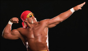 The Hulk Hogan pose in Angeles City Philippines