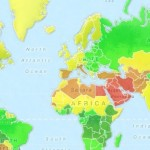 Easiness, Hottness, Boobs and Ass by Country – World Girls