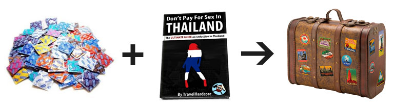 Condoms + TravelHardcore's Ultimate Guide on Seduction in Thailand