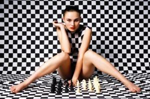 Chess sexy girl