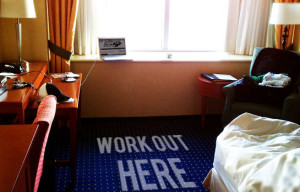 Staying in shape while traveling
