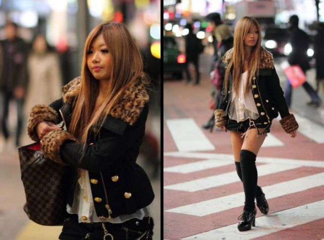 Japanese girls fashion