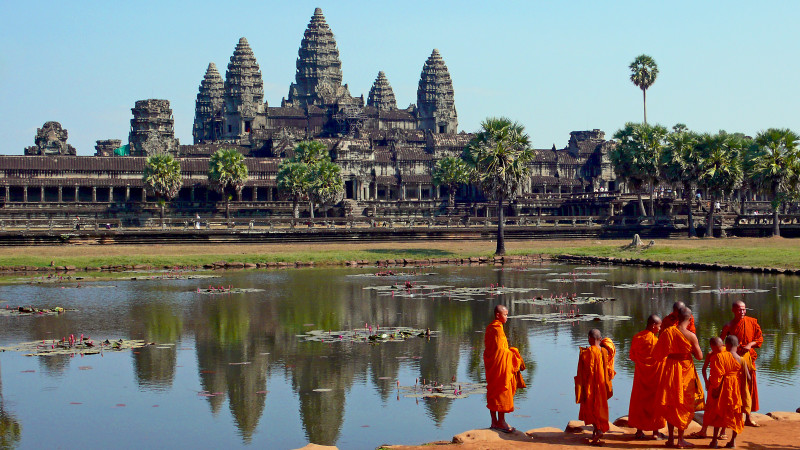 Happiness Should Be Every Man's Goal, Angkor Wat