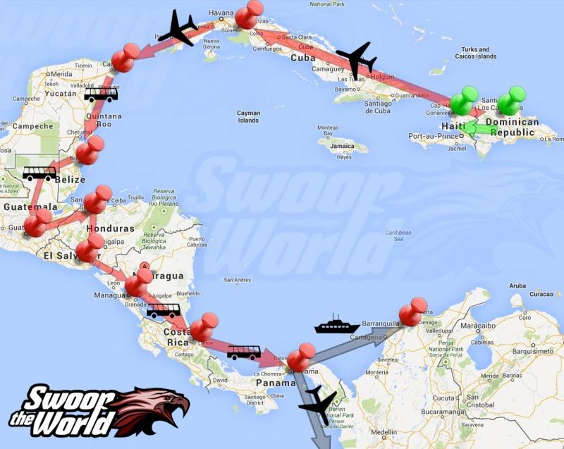 Central America Adventure Plan