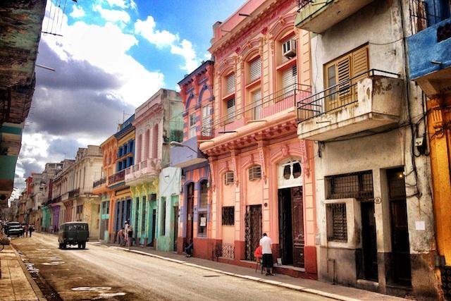 Havana colorful street
