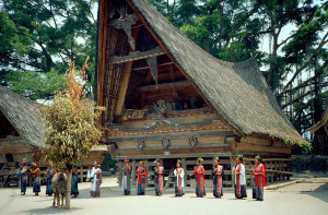 Indonesia, Sumatra, Batak House