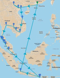 Invasion of southeast asia