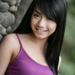 Cute girl from Indonesia