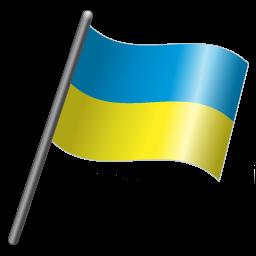 Ukraine-Flag-3-icon
