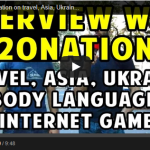 Roosh Interview with 20Nation on Travel, Asia, Ukraine, Body Language and Internet Game