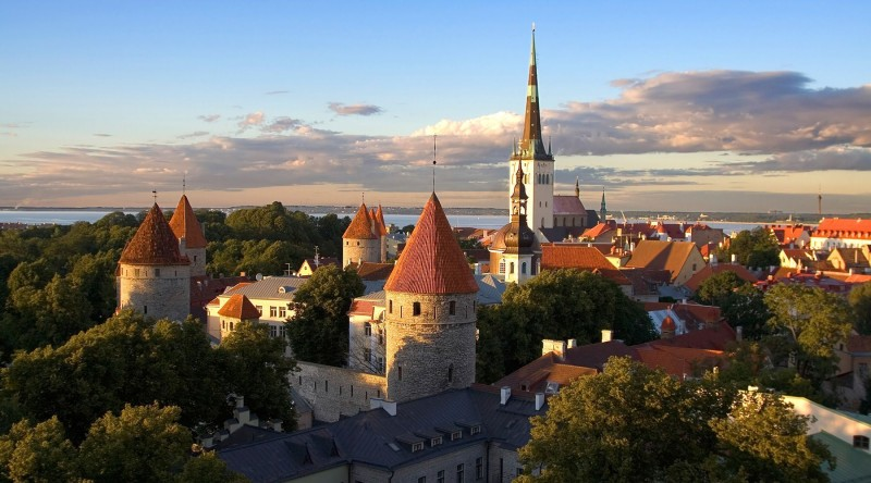 Tallinn, Estonia Like Being in a Medieval Film Filled with Hot Blonde Women