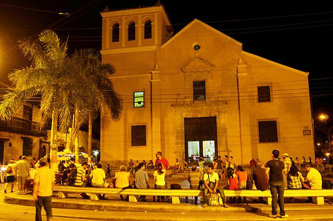 Plaza Trinidad, Cartagena