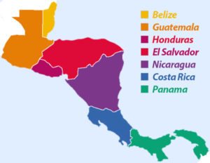 Central American Girls Overview Map