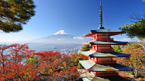 Mount Fuji, near Tokyo Japan