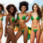 Brazilian girls of the beach in Rio