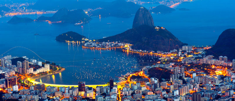 View of Rio, home of millions of sexy Brazilian girls