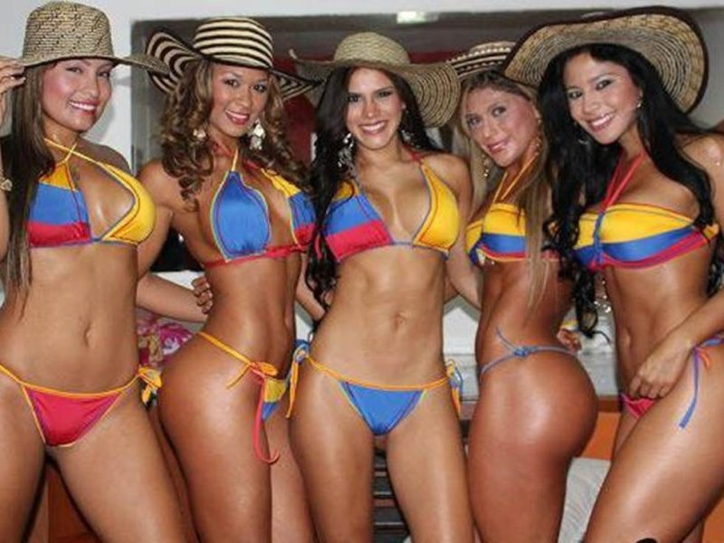 sexiest women colombia