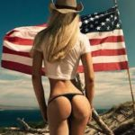 i like american women flag