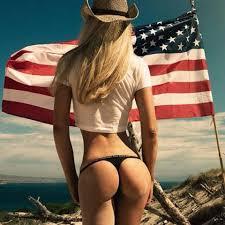 i like american women flag