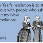 What are your new year resolutions for 2018